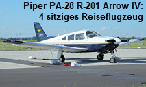Piper PA-28 R-201 Arrow IV:  4-sitziges Reiseflugzeug