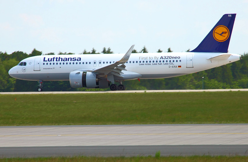 Airbus A-320 neo - Rollbahn