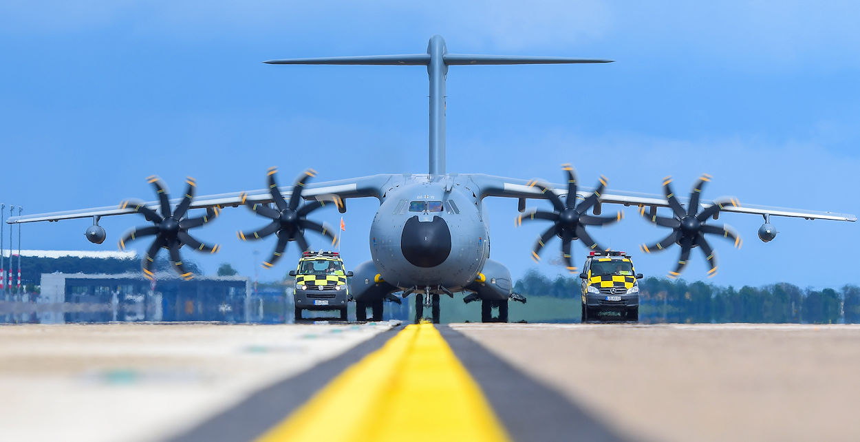 Airbus A400M - Frontansicht