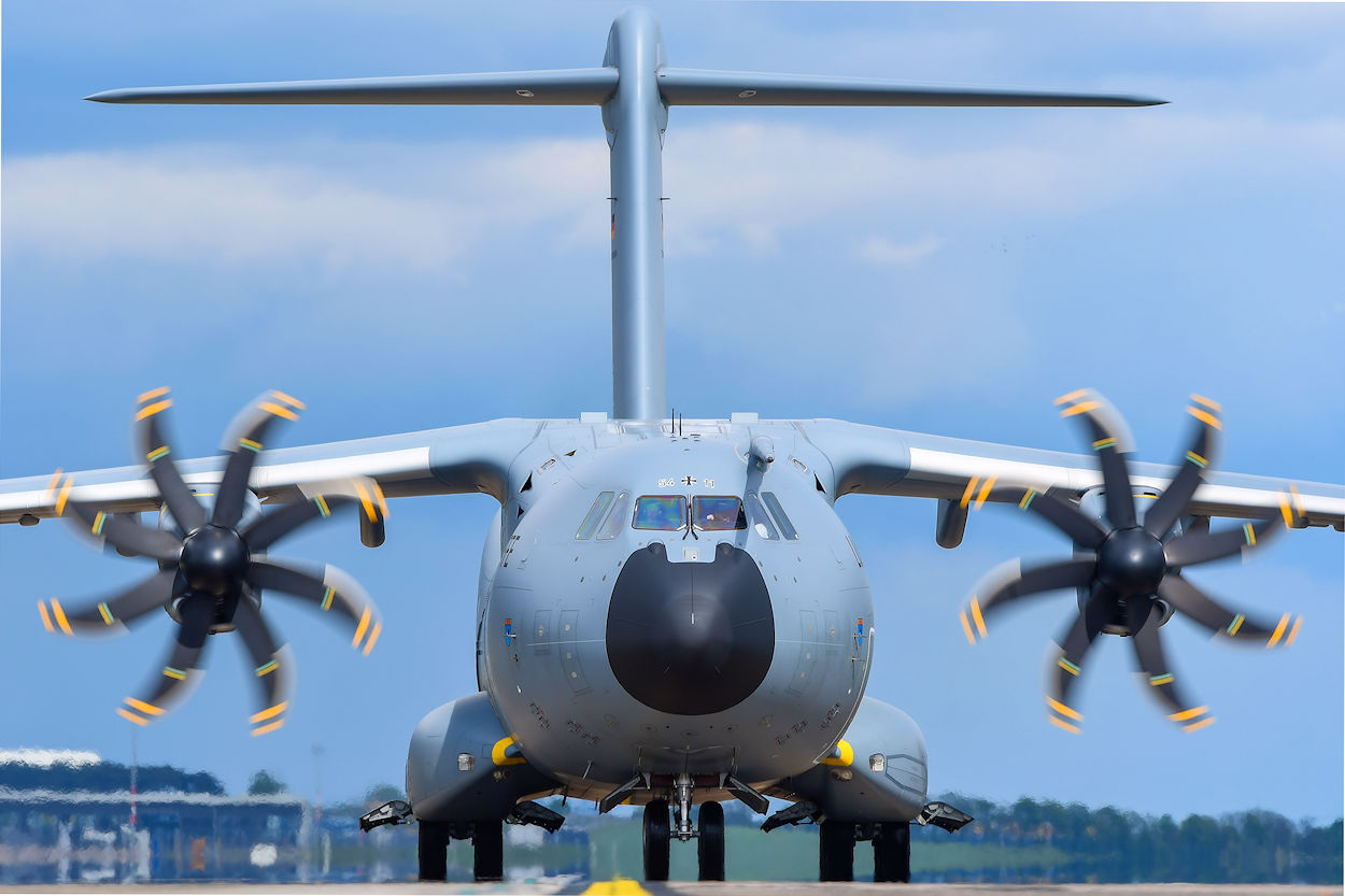 Airbus A400M Frontansicht