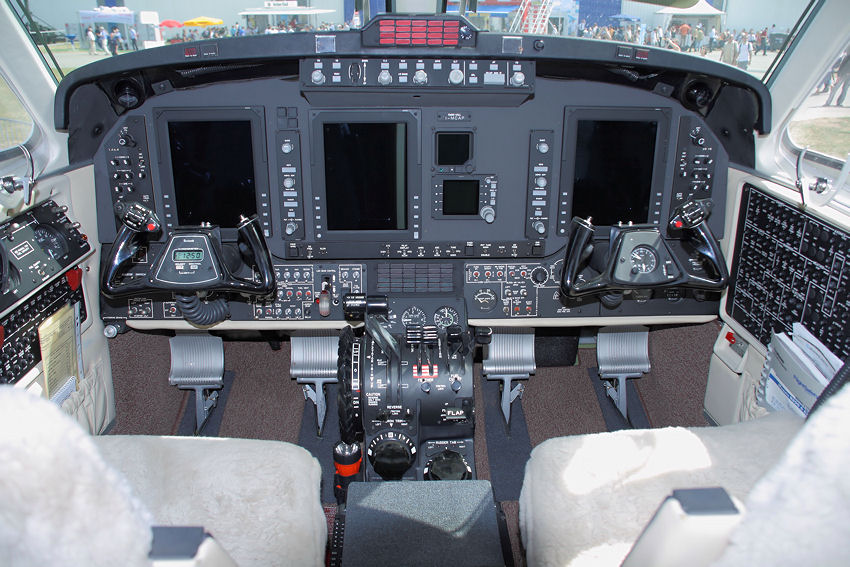 King Air 350 - Cockpit