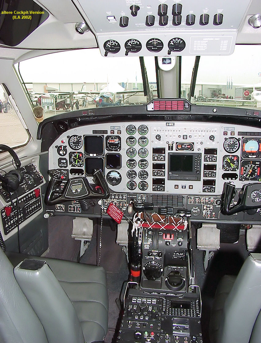 King Air B200 - Cockpit