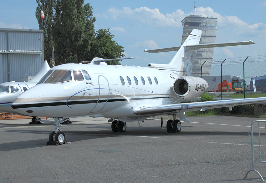 Hawker 750: neuester Businessjet der Hawker Beechcraft Corporation