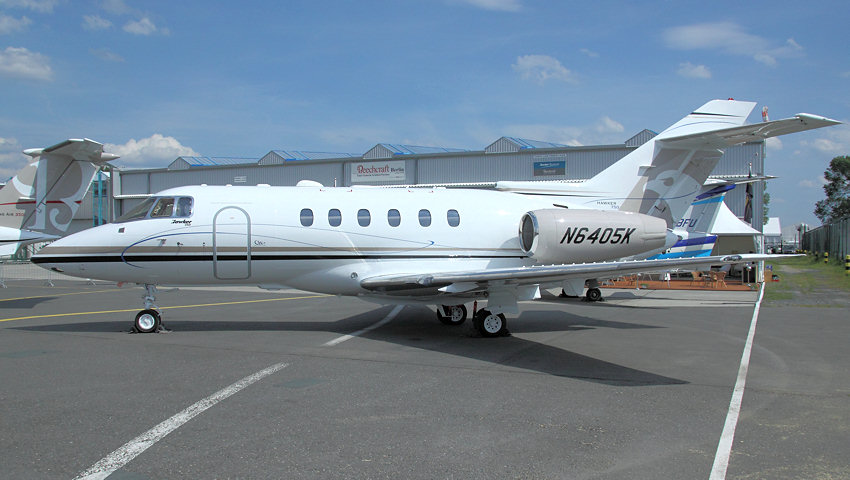 Hawker 750: Businessjet der Hawker Beechcraft Corporation seit 2007