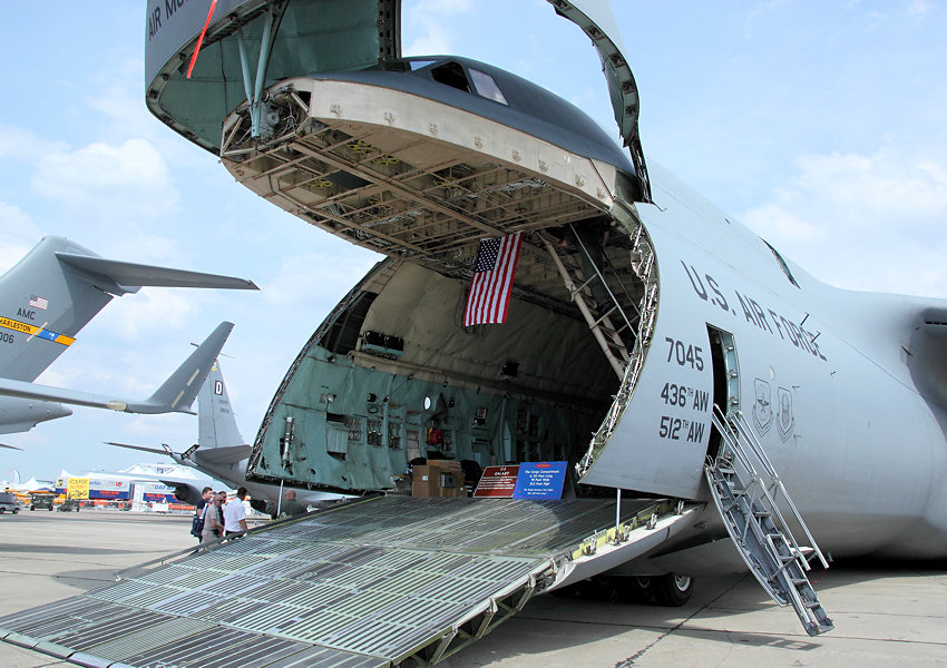 Lockheed C-5 Galaxy: milit�risches Transportflugzeug f�r die US Air Force