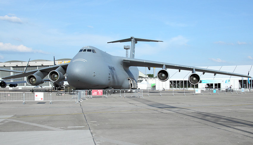 Lockheed C-5 Galaxy: Gro�raumtransportflugzeug f�r die US Air Force