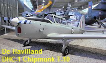 De Havilland DHC-1 Chipmunk T-10