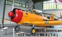 North American CCF Harvard Mk.4 (T-6)