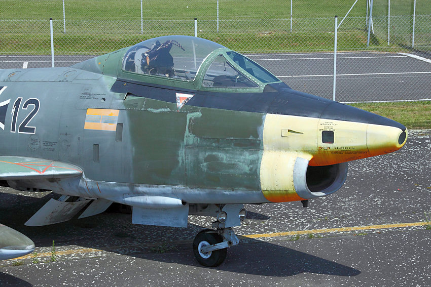 Fiat G-91 R3 - Front
