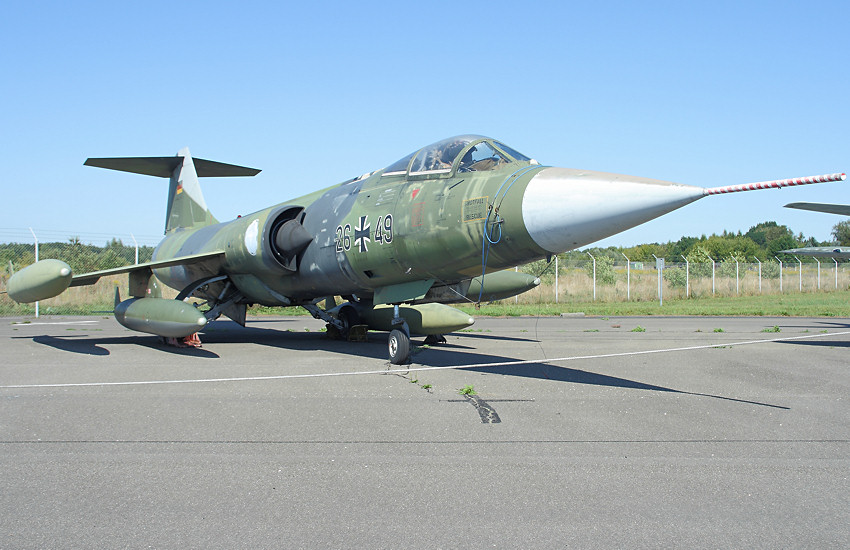 Lockheed F-104 G Starfighter - Kampfflugzeug der Lockheed Corporation