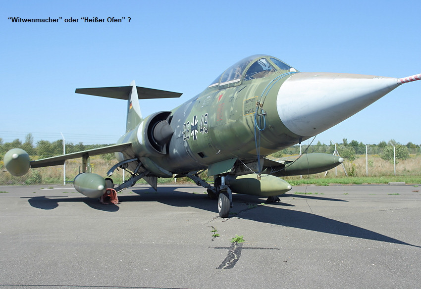 Lockheed F-104 Starfighter - einstrahliges Kampfflugzeug der Lockheed Corporation