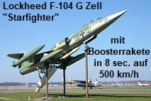 "Lockheed F-104 G ""Zell"" - Starfighter"