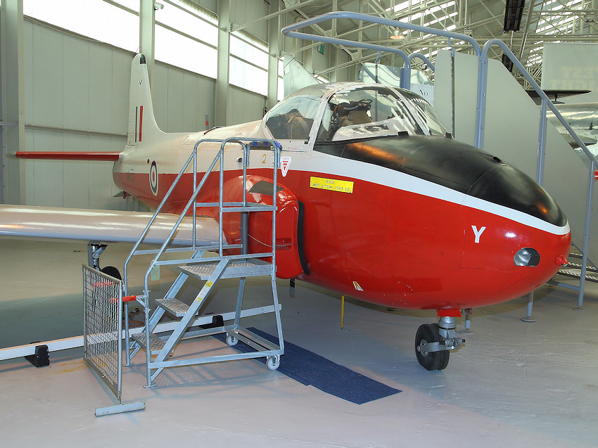BAC Jet Provost T3: Jet-Trainer der Royal Air Force (RAF) mit Doppelsteuerung