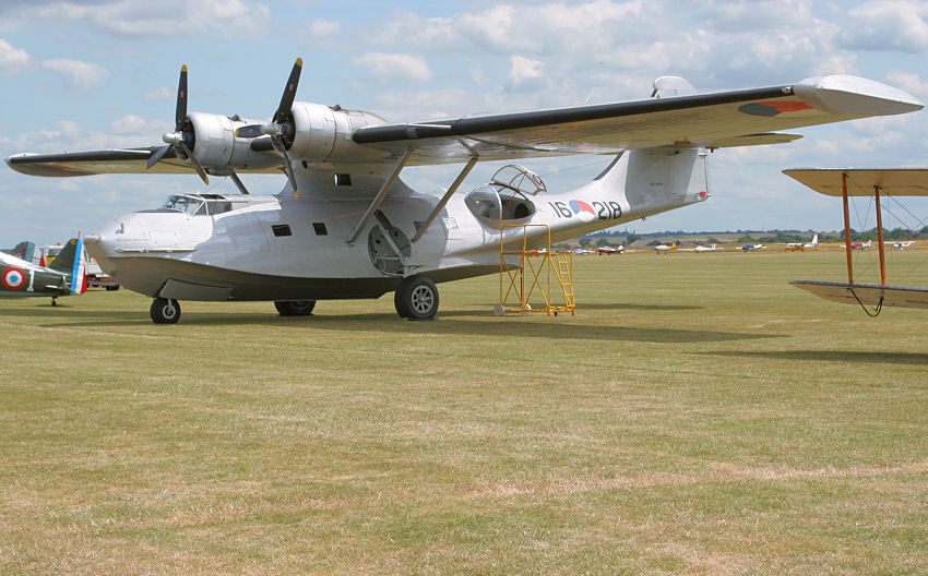 "Consolidated PBY ""Catalina"" (Canadian Vickers PBY-5A Canso): amphibischer Bomber zur U-Boot-Jagd"