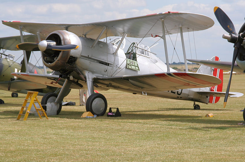 Gloster Gladiator: Der letzte Doppeldecker der Royal Air Force (RAF)