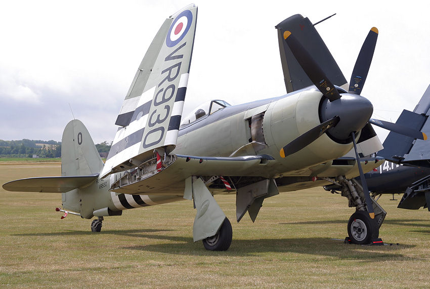 Hawker Sea Fury: Jagdflugzeug