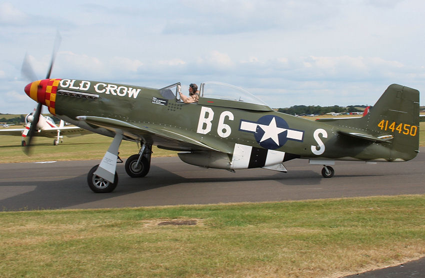"North American P-51 Mustang:  ""Old Crow"" der ""Scandinavian Historic Flight"""