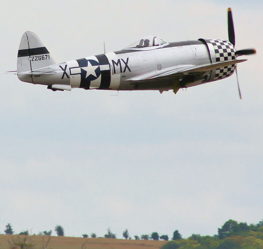 Republic P-47 - Flug