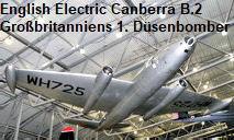 English Electric Canberra B.2: Gro�britanniens erster D�senbomber