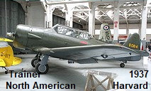 North American Harvard:  1-motoriges militärisches Trainingsflugzeug