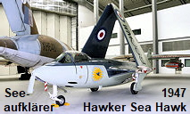 Hawker Sea Hawk: Seeaufkl�rer von 1947