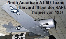 North American AT-6D Texan (Harvard III bei der RAF): Trainer von 1937