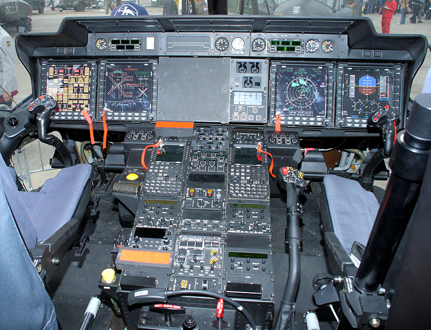 NH 90 Industries - Cockpit