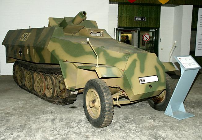 Schützenpanzerwagen Sd Kfz 251 Stummel Baujahr Von 1943 1945