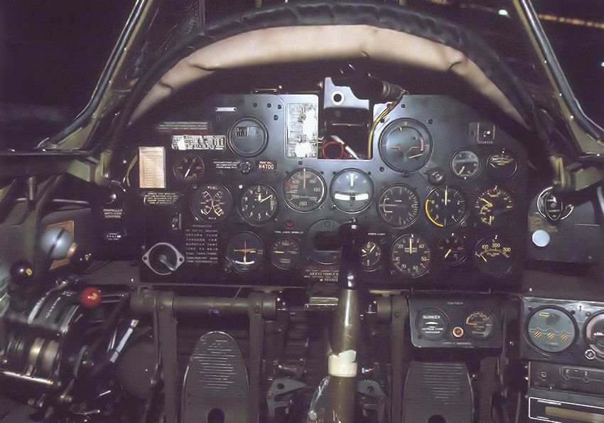 Republic P-47 Thunderbolt: Cockpit