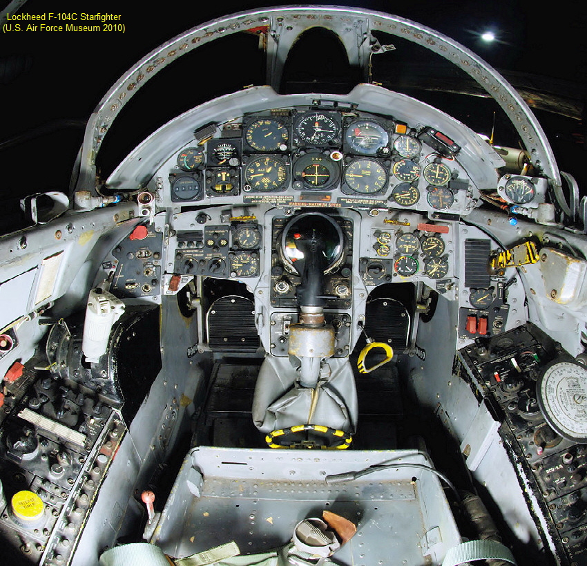 F-104 Starfighter - Cockpit