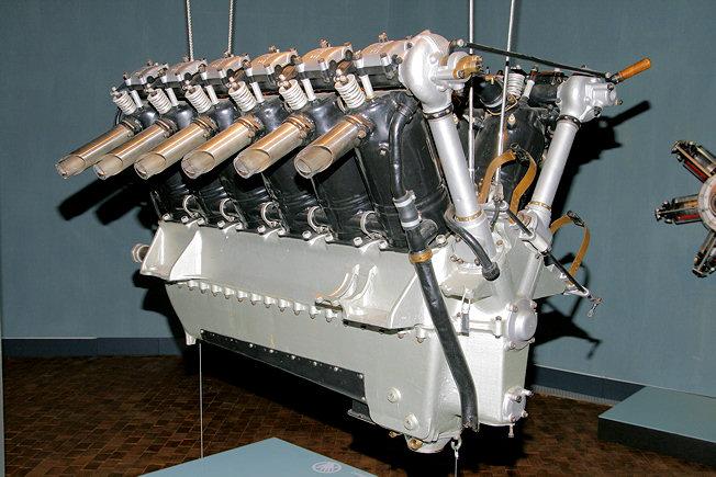 Bmw Vi Erster V12 Flugmotor Von Bmw