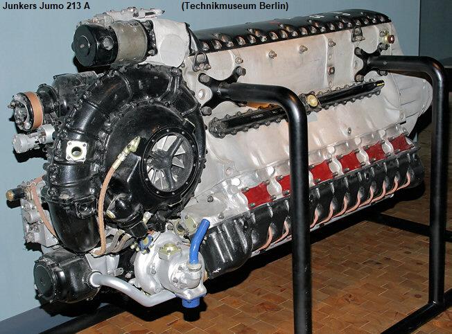 Junkers Jumo 213 - Flugmotor d...