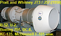 Pratt and Whitney JT3
