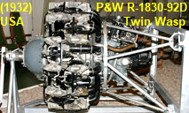 Pratt and Whitney R-1830-92D Twin Wasp