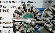 Pratt and Whitney Wasp Junior R985