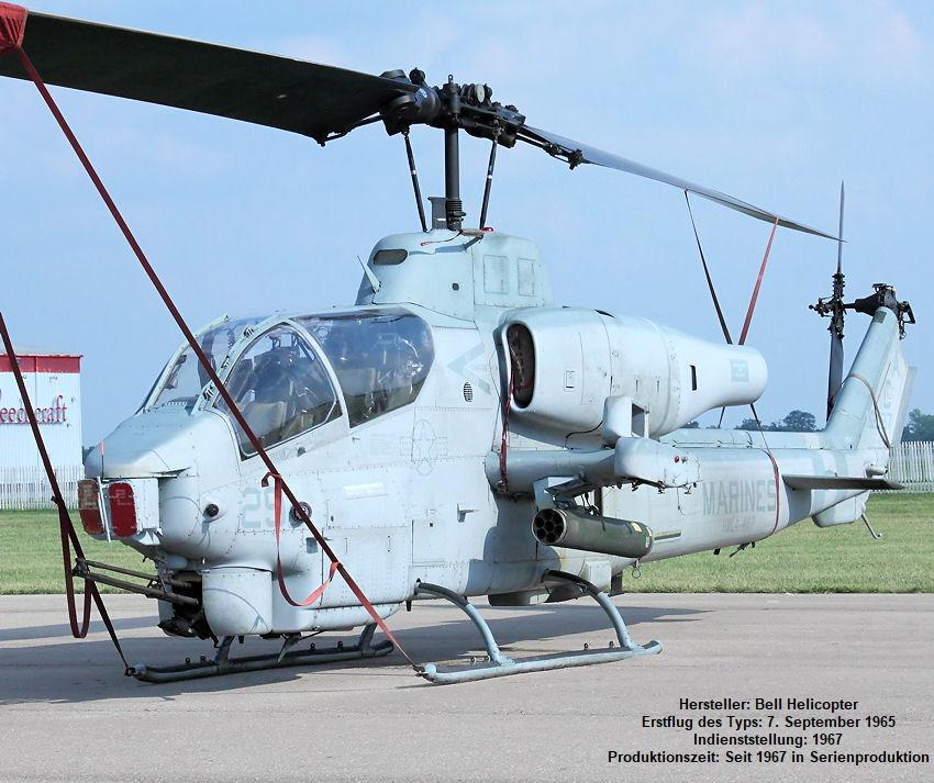 Bell AH-1W Super Cobra: Kampfhubschrauber Der