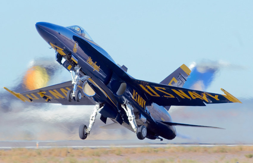 Blue Angels Start - US Navy