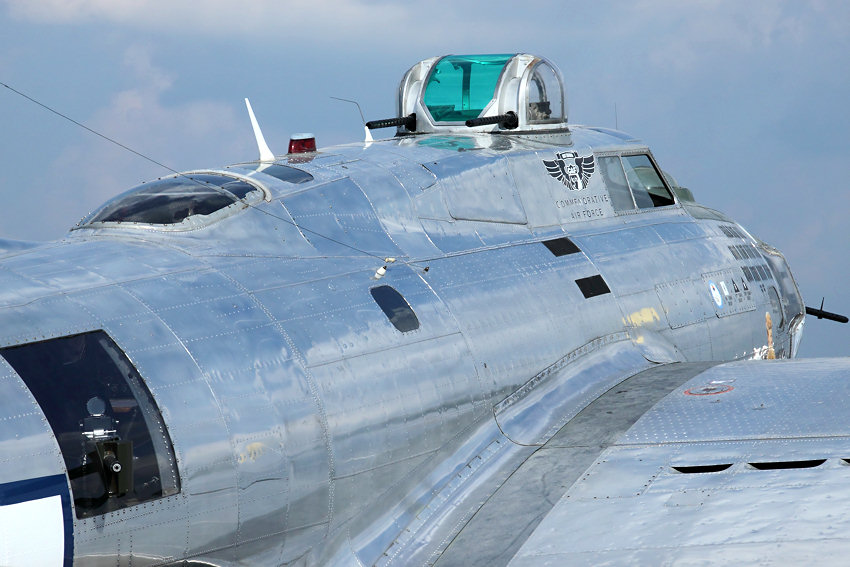 Boeing B-17G Flying Fortress: Bomber der USA