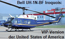 Bell UH-1N-BF Iroquois: VIP-Version der United States of America