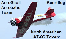 North American AT-6G Texan: Das AeroShell Aerobatic Team zeigt Kunstflug