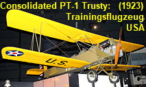 Consolidated PT-1 Trusty: Trainingsflugzeug US-Army von 1923