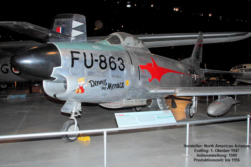 North American F-86D Sabre