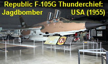 Republic F-105G Thunderchief: Jagdbomber der U.S. Air Force von 1958