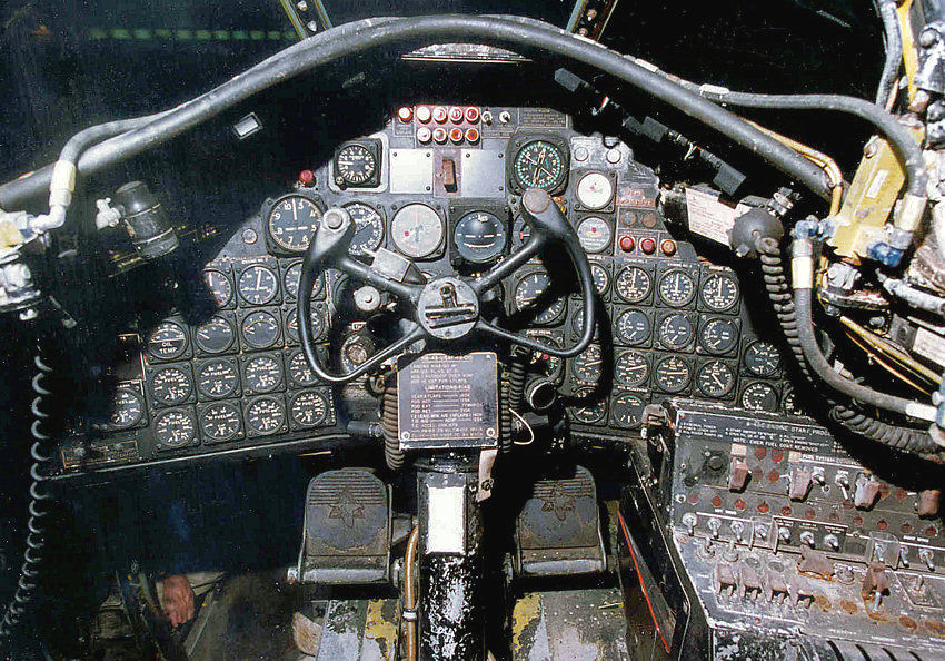 North American B-45 Cockpit