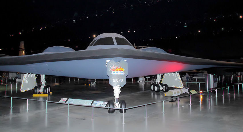 Northrop B2 Spirit - strategischer Langstreckenbomber der USA