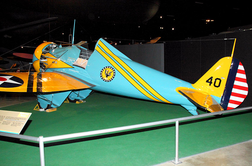 Boeing P26 A Peashooter