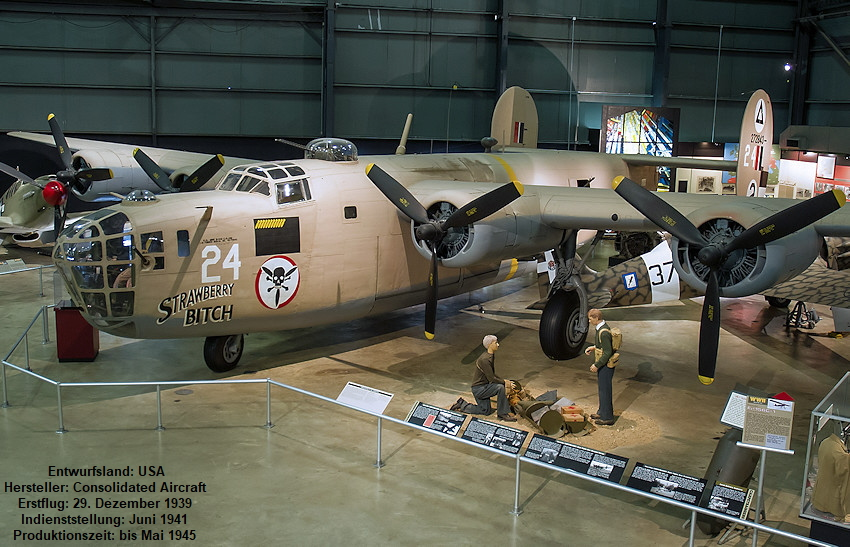 Consolidated B-24D - U.S. Air Force