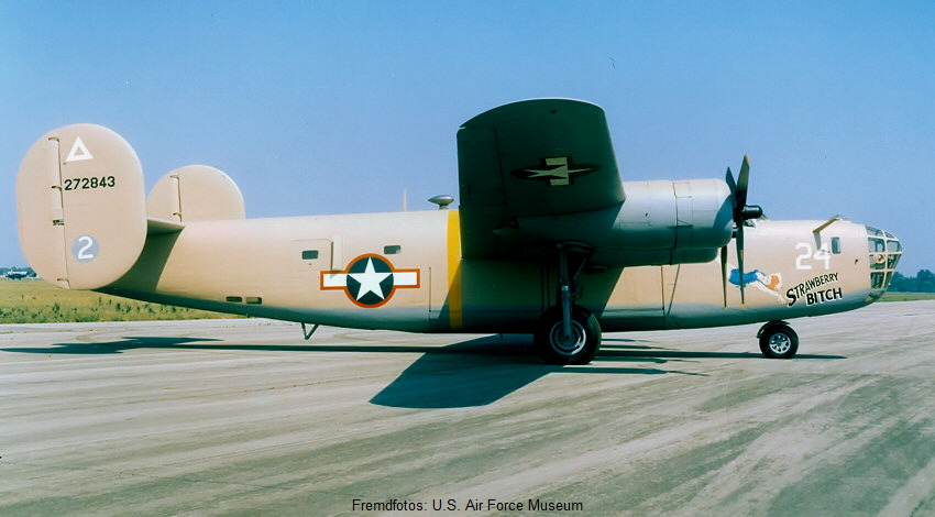 Consolidated B-24 Liberator: Bomber der USA