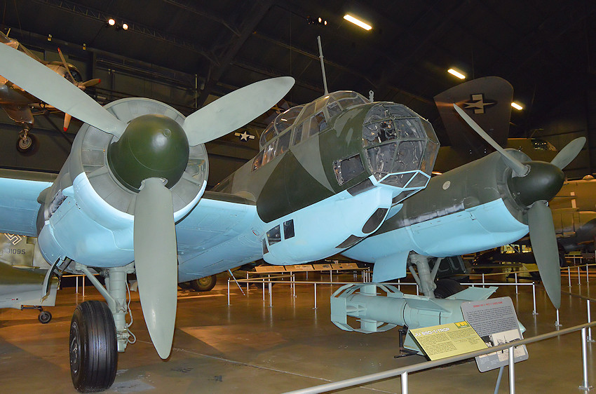 Junkers JU 88 - U.S. Air Force Museum