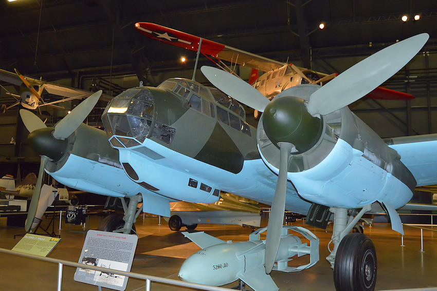 Junkers JU 88 - U.S. Air Force Museum 3